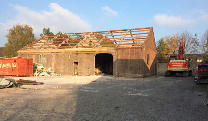 Bouw sloop project Kombi Nijnsel - Gebr. Van Kaathoven Sint Oedenrode