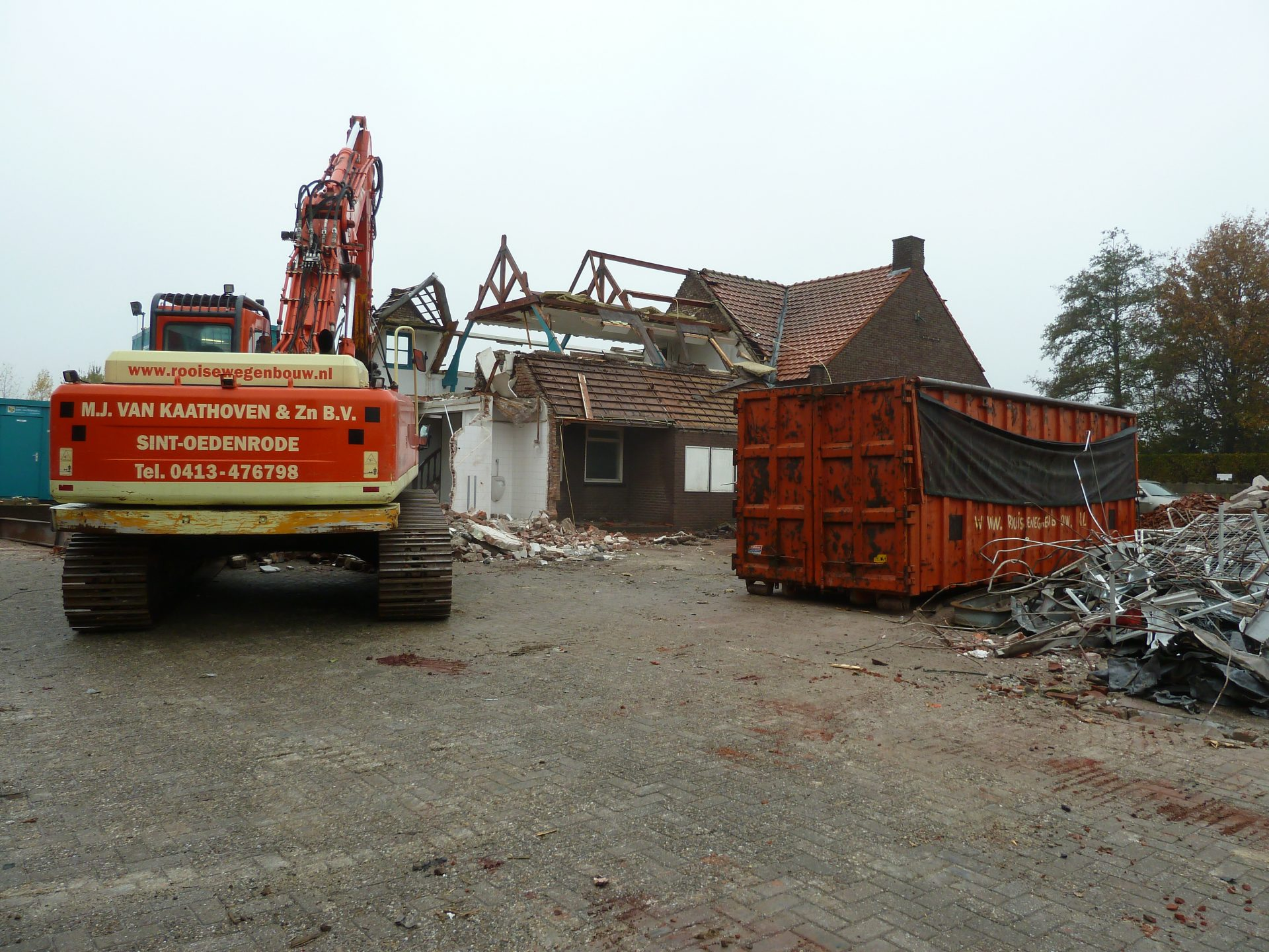Sloopwerk - circulair slopen - Gebr. Van Kaathoven