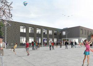 Infra project Rotsoord VSO Utrecht - Gebr. Van Kaathoven Sint Oedenrode